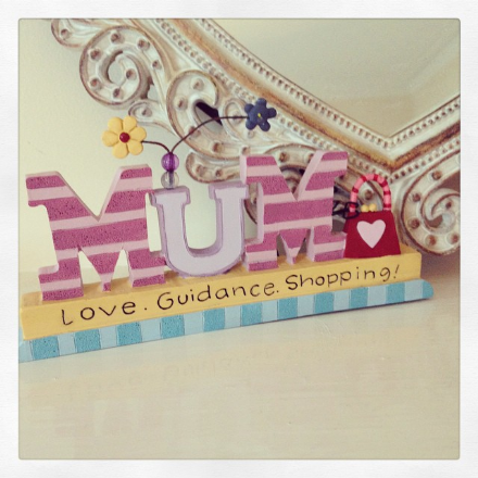 40% OFF Mum Love Guidance Shopping Plaque